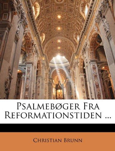 Psalmeb Ger Fra Reformationstiden ... 9781142837426