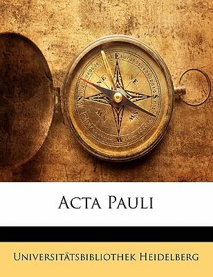 ACTA Pauli 9781142873745