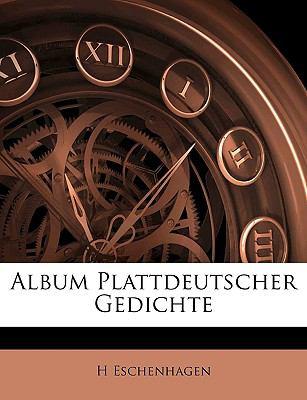 Album Plattdeutscher Gedichte 9781144239617