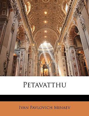 Petavatthu 9781144330833