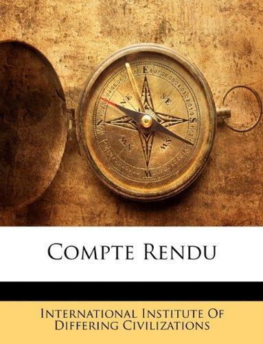 Compte Rendu 9781144466297