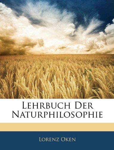 Lehrbuch Der Naturphilosophie Von Dien