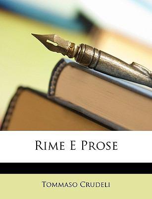 Rime E Prose 9781146712316