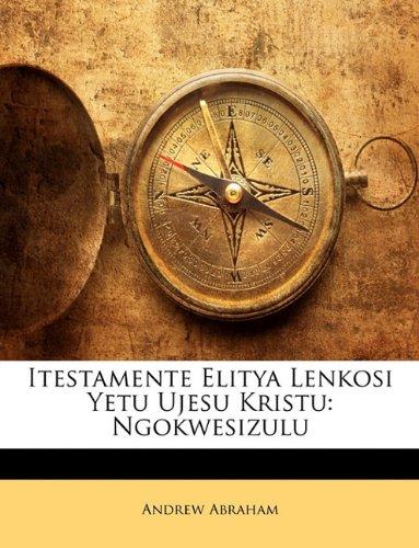 Itestamente Elitya Lenkosi Yetu Ujesu Kristu: Ngokwesizulu 9781148486871