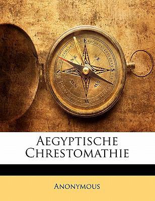 Aegyptische Chrestomathie 9781148064307