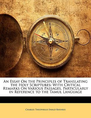 An  Essay on the Principles of Translating the Holy Scriptures