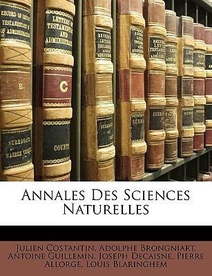 Annales Des Sciences Naturelles 9781149215654