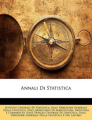 Annali Di Statistica 9781148045849
