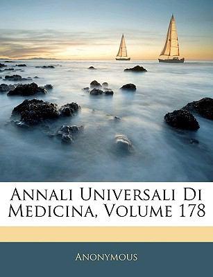 Annali Universali Di Medicina, Volume 178 9781143320316