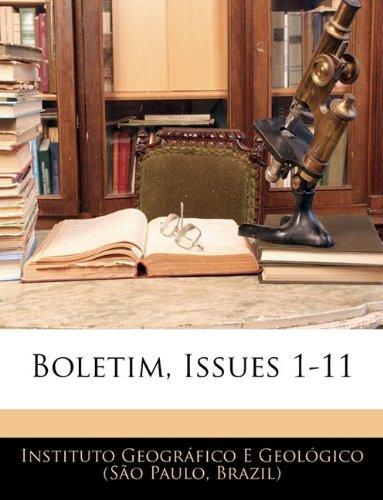 Boletim, Issues 1-11 9781144403773