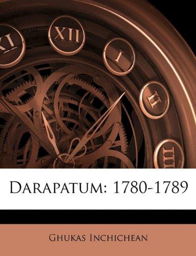 Darapatum: 1780-1789 9781142601195