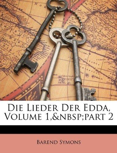 Die Lieder Der Edda, Volume 1, Part 2