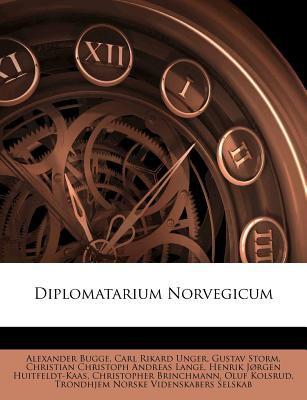 Diplomatarium Norvegicum 9781142714987