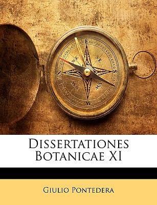 Dissertationes Botanicae XI