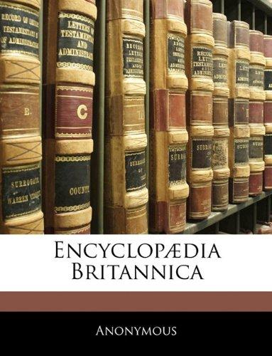 Encyclop Dia Britannica 9781143902246