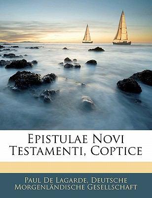 Epistulae Novi Testamenti, Coptice 9781142044466