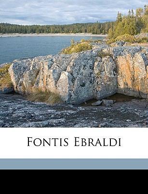 Fontis Ebraldi 9781149236376