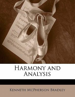 Harmony and Analysis 9781143432378