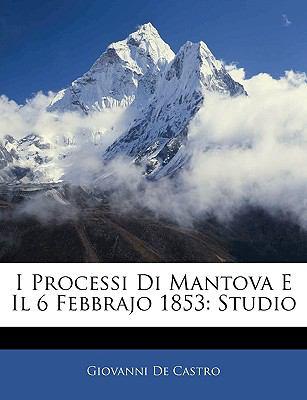 I Processi Di Mantova E Il 6 Febbrajo 1853: Studio 9781143395628