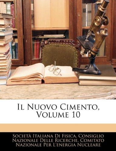 Il Nuovo Cimento, Volume 10 9781143903335