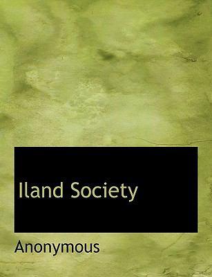 Iland Society 9781140066668