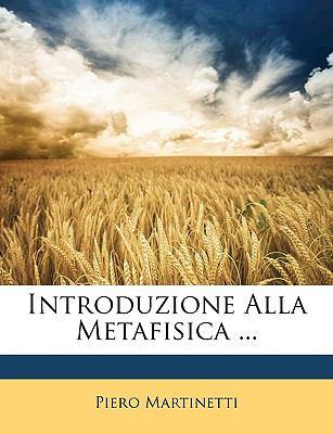 Introduzione Alla Metafisica ... 9781148261003