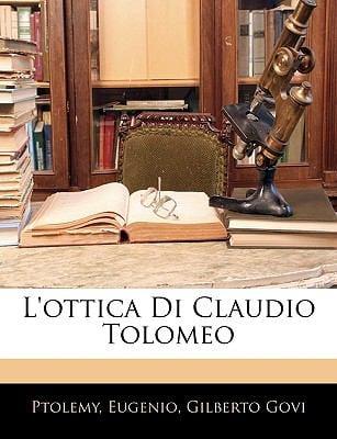 L'Ottica Di Claudio Tolomeo 9781145876088