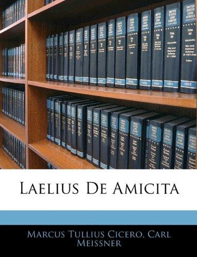 Laelius de Amicita 9781141677924