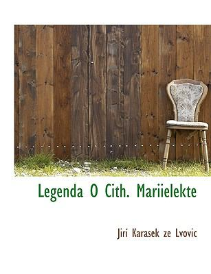 Legenda O Cith. Mariielekte 9781140104186