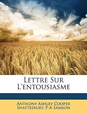 Lettre Sur L'Entousiasme 9781148014470
