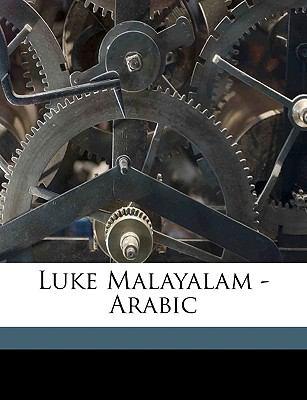 Luke Malayalam - Arabic 9781149452103