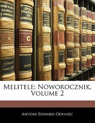 Melitele: Noworocznik, Volume 2 9781141518500