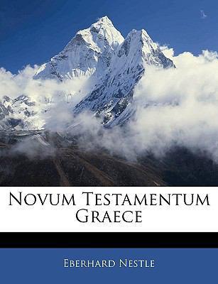 Novum Testamentum Graece 9781143846823