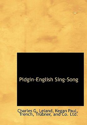 Pidgin-English Sing-Song 9781140276388