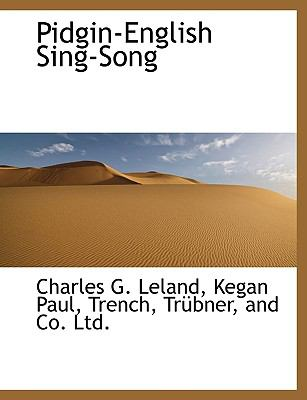 Pidgin-English Sing-Song 9781140276395