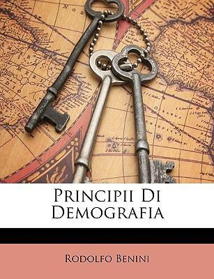 Principii Di Demografia 9781148335216