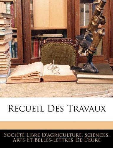 Recueil Des Travaux 9781143362194