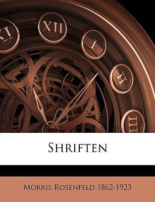 Shriften 9781149548141