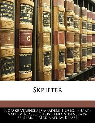 Skrifter 9781143909078