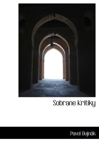 Sobrane Kritiky 9781140004066
