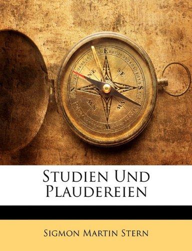Studien Und Plaudereien 9781145575691