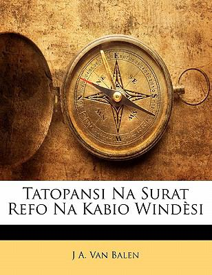 Tatopansi Na Surat Refo Na Kabio Wind Si 9781141428021