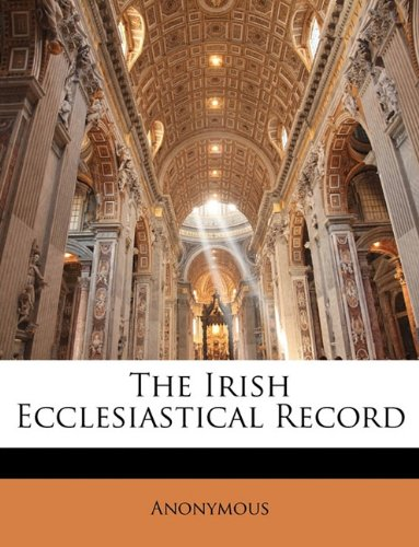 The Irish Ecclesiastical Record