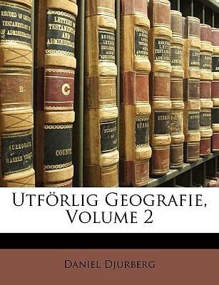 Utf Rlig Geografie, Volume 2 9781149207970