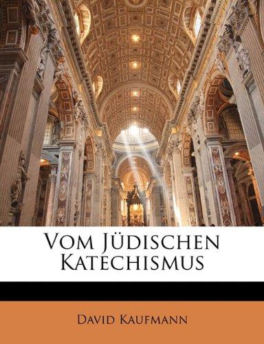 Vom Judischen Katechismus 9781149620793