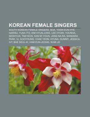 Korean Female Singers: South Korean Female Singers, Boa