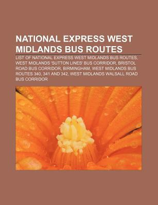National Express West Midlands Bus Routes