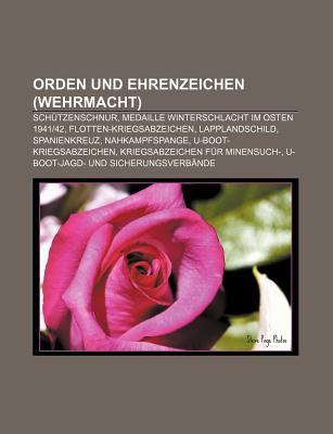 Orden Und Ehrenzeichen (Wehrmacht): Sch Tzenschnur, Medaille