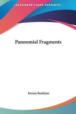 Pannomial Fragments 9781161447309