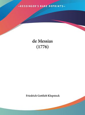 de Messias (1776) 9781161999815